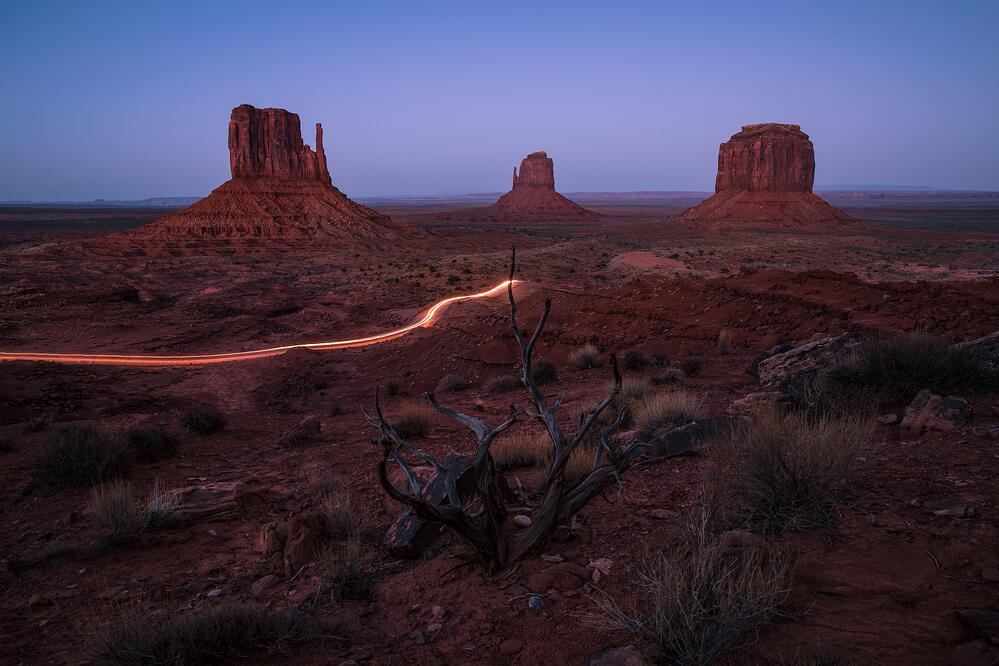 Monument Valley, Colorado Canon EOS-1D X Mark II, Lens (mm): 24, Canon EF 24-70mm 2.8 ii, ISO: 50, Aperture: 6.3, Shutter: 30