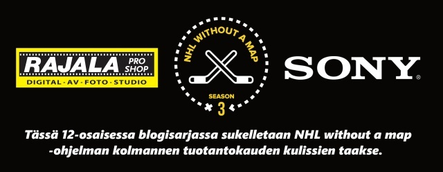 NHL Without a Map, eli #NHLWAM - 12-osainen blogisarja