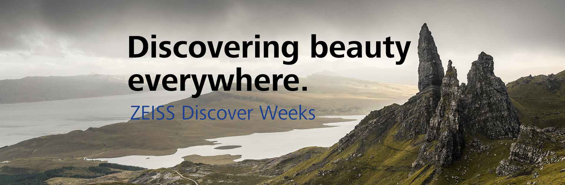 ZEISS Discover Weeks 15.6.-31.7.2018